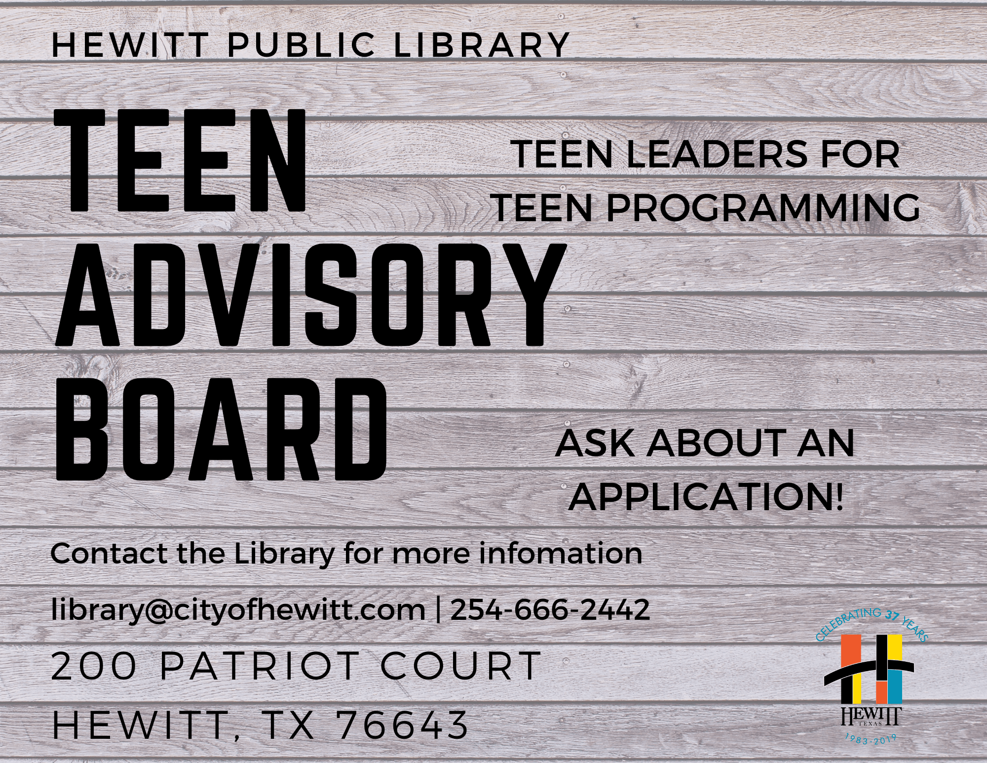 Teen Advisory Board - Copy