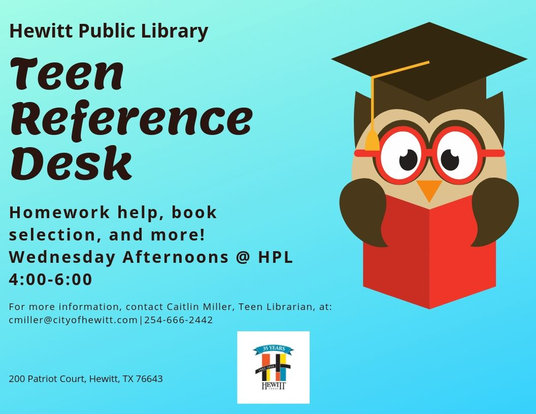 Teen Reference Desk