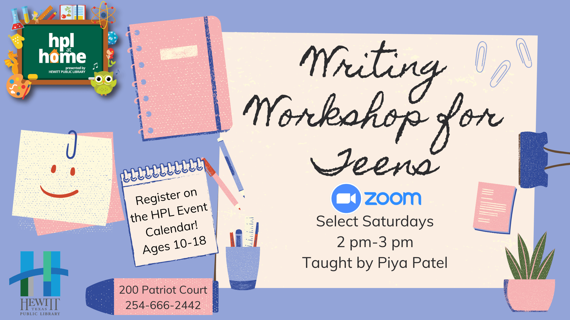 Writing Workshop for Teens
